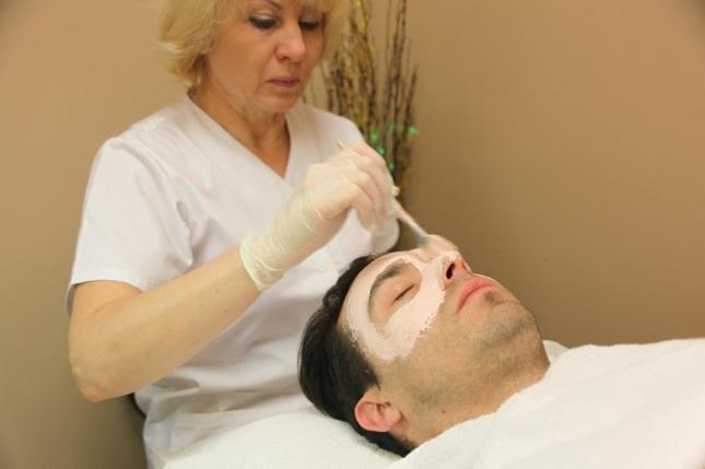 Mens facial salon have