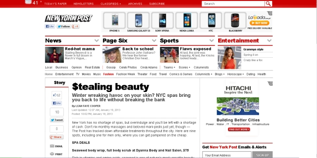 newyorkpost screenshot